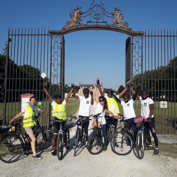 Les Vélos de l' Espérance vers St-Malo