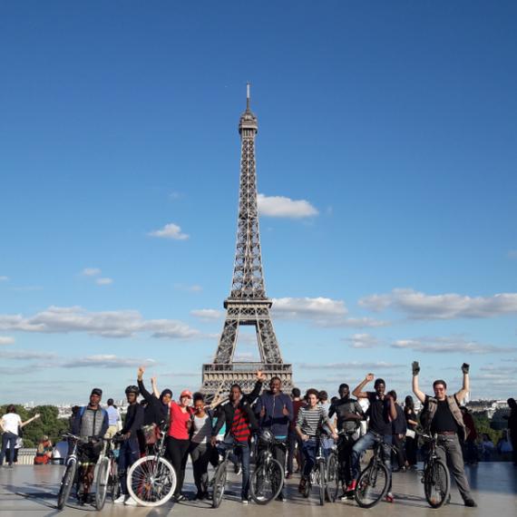 Les Youngs vélos de l'Espérance au taquet !
