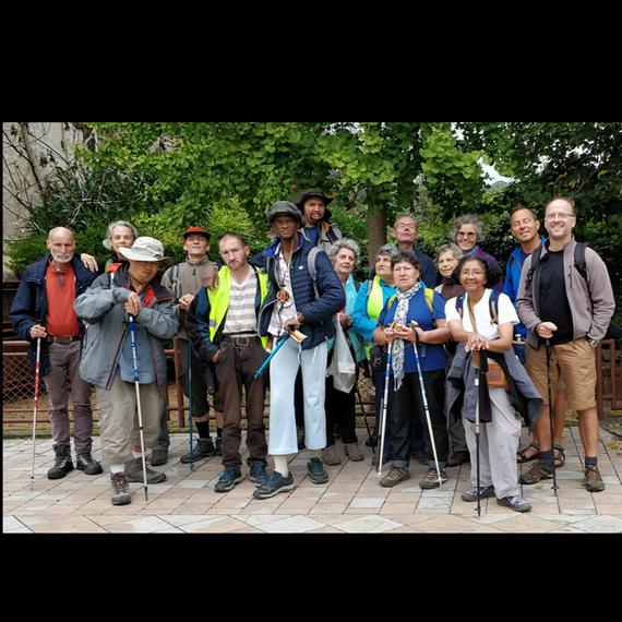 Marcheurs de l'espérance sur le chemin de Compostelle - 2019