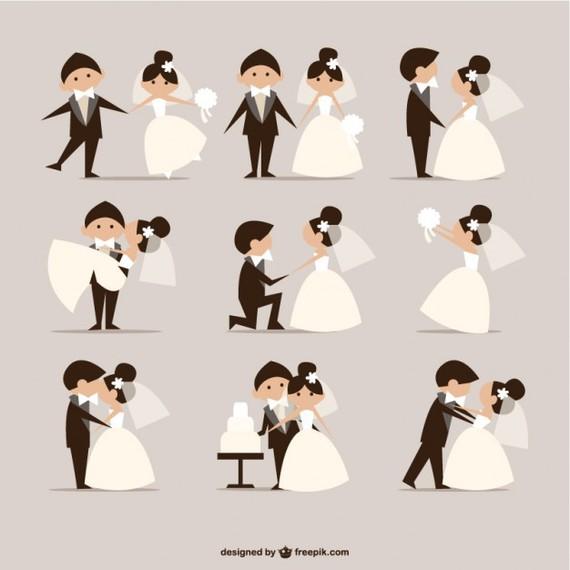 A l'occasion de notre mariage