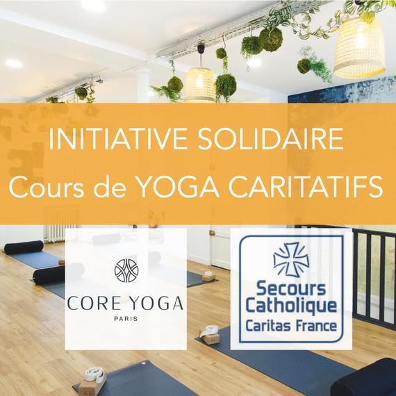Cours de Yoga caritatifs