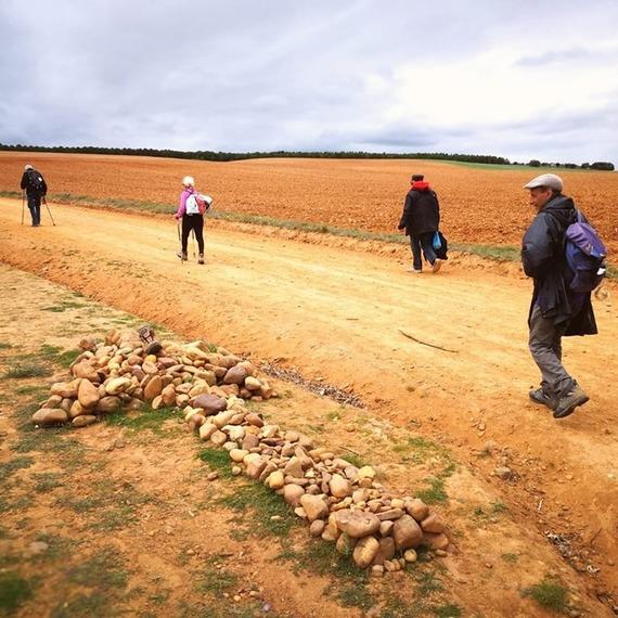 Marcheurs de l'espérance : Arrivée à Compostelle