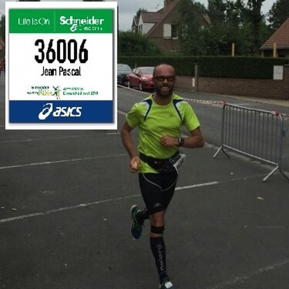 """Marathon de Paris 2018  """"Je cours pour le Secours !!"""""""